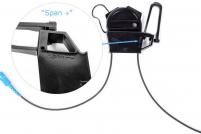 Előrendelhető – ÚJ Optikai Drop kábel feszítő szerelvény